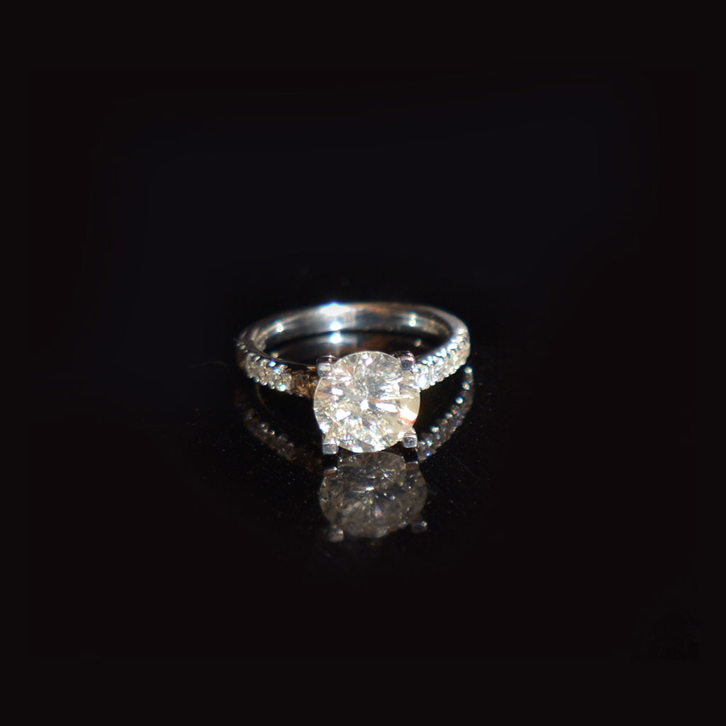 Diamond Solitaire was £32,000 now £21,000